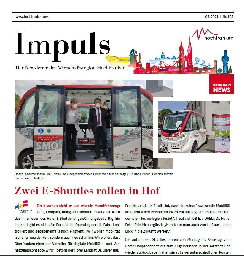 IMPULS Newsletter Juni 2021