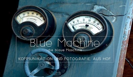 Blue Machine -die blaue Maschine_Logo Juli 2021